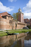 Old castle in Lidzbark Warminski Stock Photo