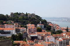 Old castle in Lisbon, Portugal Stock Photography