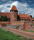 The old castle in Malbork. Royalty Free Stock Photos