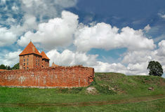 The old castle in Malbork. Royalty Free Stock Photo