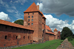 The old castle Malbork - Poland. Stock Photo