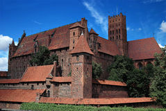 The old castle Malbork - Poland. Stock Images