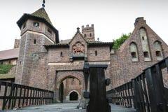 Old castle in Malbork, Poland Royalty Free Stock Photos