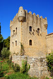 Old castle at Mani, Peloponnese, Greece Royalty Free Stock Photo