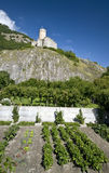 Old castle of Martigny Royalty Free Stock Photo