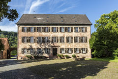 Old castle in medieval city of Buedingen Stock Photo