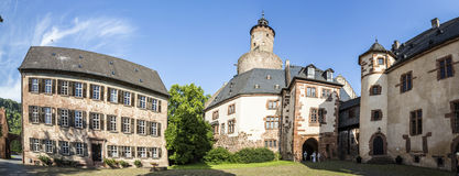Old castle in medieval city of Buedingen Stock Photo