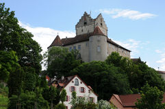 Old castle of Meersburg Royalty Free Stock Image