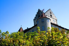 Old Castle, Meersburg, Lake Constance (Bodensee) Stock Photos