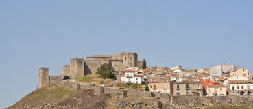 Old castle of Melfi Royalty Free Stock Images