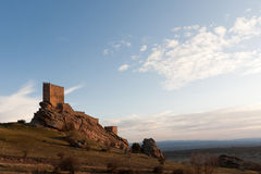 Old castle in Molina de Aragon, Spain Stock Images