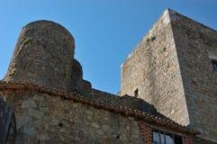 Old castle. In Montemayor del R�o, Spain Stock Photos