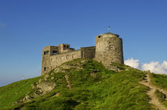 Old castle on the mountain Royalty Free Stock Photos