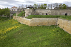 Old castle in Narva. Estonia Royalty Free Stock Images