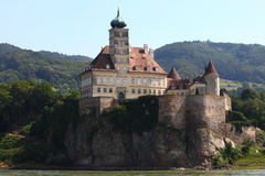 Europe classic castle Royalty Free Stock Photo