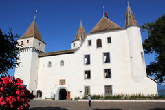 Old castle in Nyon, Switzerland royalty free stock photography