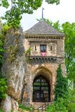 Old Castle in Ojcow Park Stock Photography