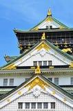 Old Castle Osaka Stock Photography
