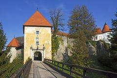 Old Castle Ozalj  in the town of Ozalj Royalty Free Stock Photo