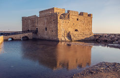 The old castle, Paphos, Cyprus. Stock Photos
