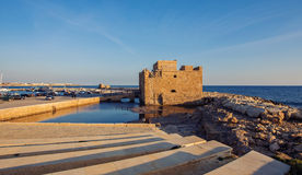 The old castle, Paphos, Cyprus. Stock Photo