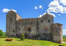 Old castle in Piedmont, Italy. Royalty Free Stock Image