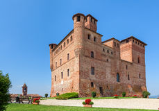 Old castle in Piedmont, Italy. Stock Photos