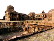Old castle of raisen india Stock Images