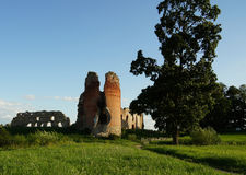 Old castle remains Stock Photography