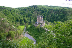 Old Castle. Rhine River Valley Royalty Free Stock Photo