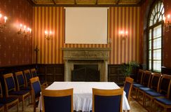 Old castle room Royalty Free Stock Photo
