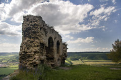Old Castle Ruin Kunitz Stock Photos