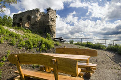 Old Castle Ruin Kunitz Royalty Free Stock Photo