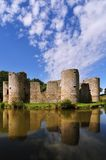 Old castle ruin on a summer day Stock Images