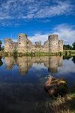 Old castle ruin on a summer day Royalty Free Stock Photography