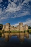 Old castle ruin on a summer day Royalty Free Stock Images
