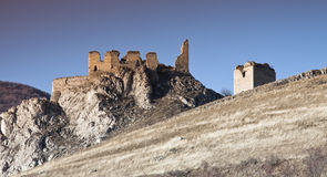 Old castle ruins Stock Image