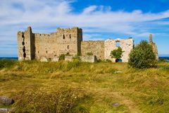 Old castle ruins Royalty Free Stock Images
