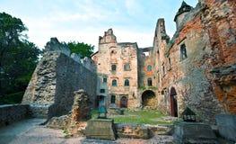 Old castle ruins. In Bolkow Slaski, Poland Stock Images
