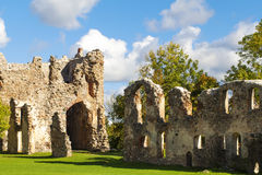 Old castle ruins Stock Images