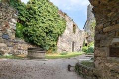 Old Castle Ruin in Gosting Graz. Old castle ruins named Gosting in Graz, Styria region of Austria Stock Photos