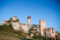 Old Castle Ruins Near Czestochowa Stock Images