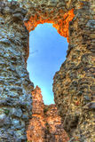 Old castle ruins in Transcarpathian Stock Photos