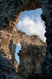 Old castle ruins in  Ukraine village Seredne Royalty Free Stock Photos