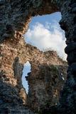 Old castle ruins in  Ukraine village Seredne Royalty Free Stock Photos