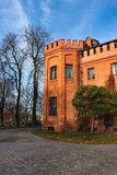 Old castle, Rzucewo, Poland. Royalty Free Stock Photography