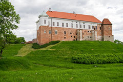 Old castle in Sandomierz, Poland Stock Images