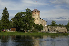 Old castle in Savonlinna Finland Royalty Free Stock Photos