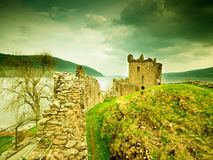 Old Castle in Scotland Royalty Free Stock Photography