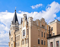 Old castle with sky in background Royalty Free Stock Photo